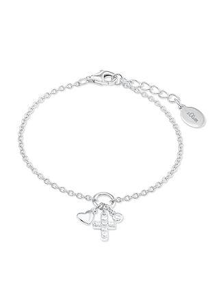 Armband 'Herz undKreuz' aus Silber