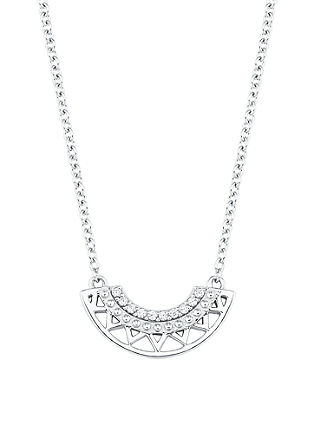 Ogrlica z obeskom v etno dizajnu