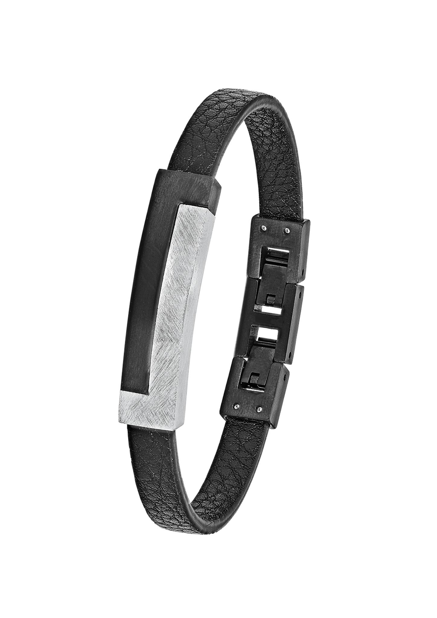 Armband   Schmuck > Armbänder   Schwarz   Edelstahl  ip black   s.Oliver