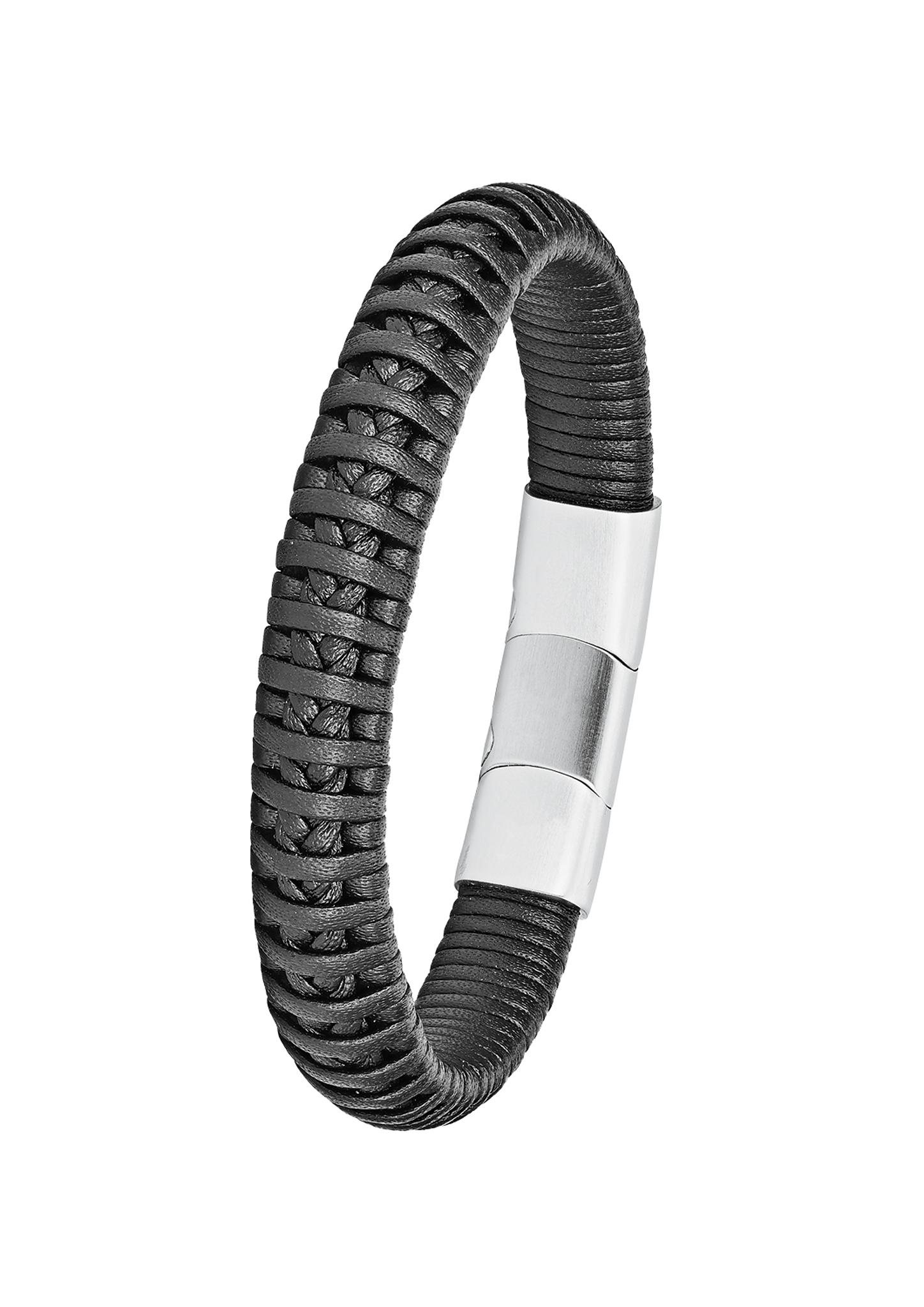 Armband   Schmuck > Armbänder   Schwarz   Edelstahl   s.Oliver