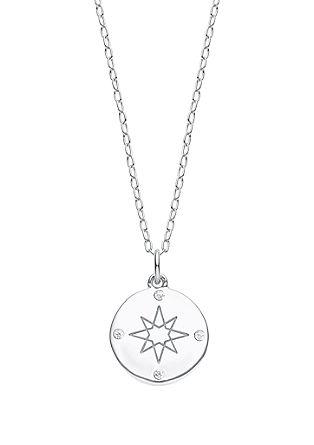 Halskette mit Kompass-Anhänger