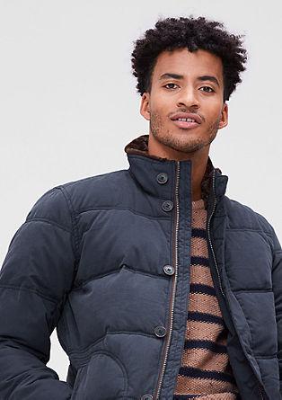 Dobro podložena jakna iz tvila
