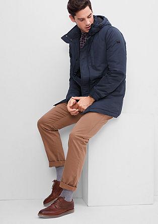 Topla zimska jakna z materialom Thermore