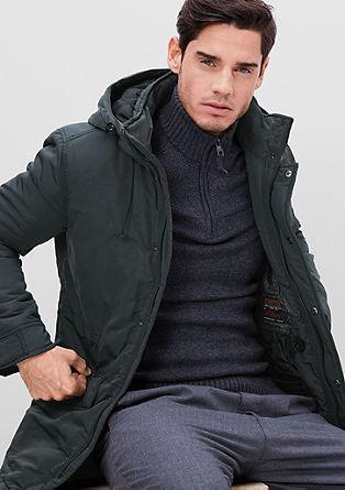 Warme winterjas met Thermore