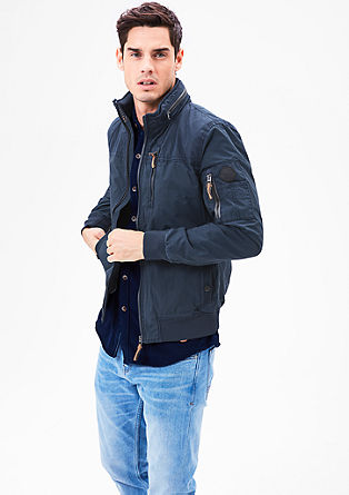 Lightweight, utility-style bomber jacket from s.Oliver