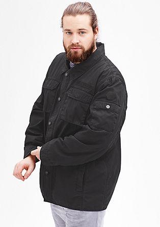 Leichtes Fieldjacket mit Wascheffekt