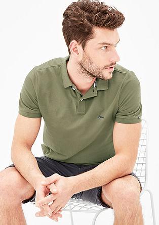 Polo majica iz bombažnega pikéja