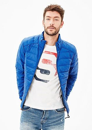 Sportive Light Down-Steppjacke