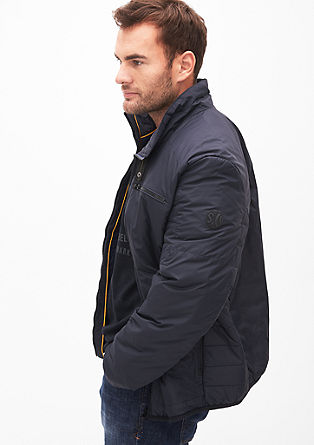 Silky matte quilted jacket from s.Oliver