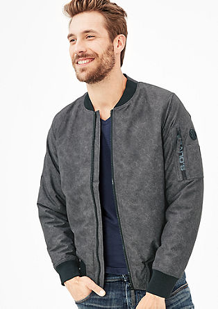 Padded bomber jacket from s.Oliver