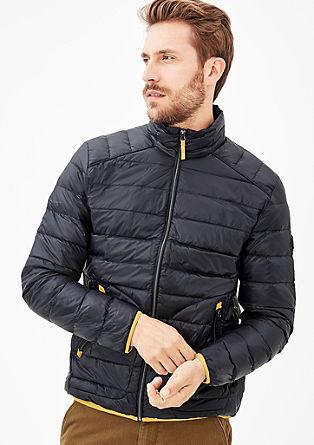 Svilnato mat prešita jakna