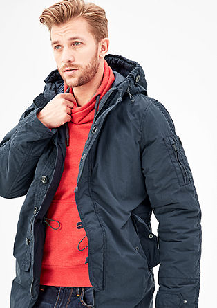 Warm wattierter Outdoor-Parka