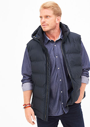Well-padded quilted body warmer from s.Oliver