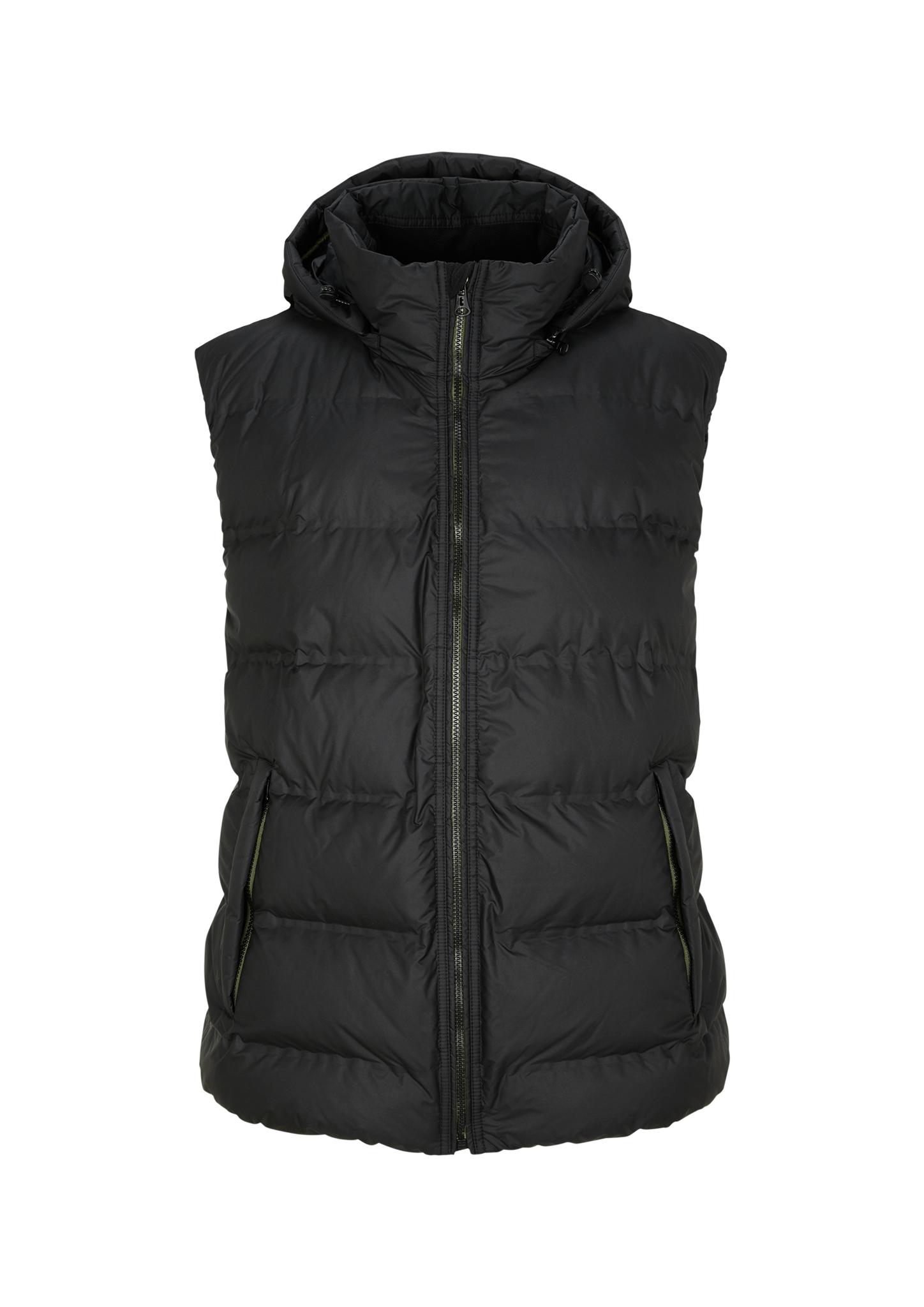Outdoor-Weste | Sportbekleidung > Sportwesten > Outdoorwesten | Grau/schwarz | Obermaterial 100% polyester| futter 100% polyamid| füllmaterial 100% polyester | s.Oliver Men Big Sizes