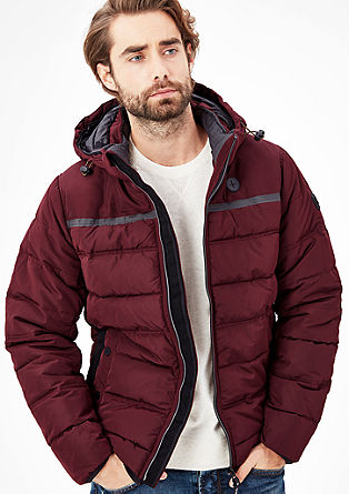 Winter jacket with functional details from s.Oliver