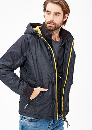 Warme Outdoor-Jacke mit Fleecefutter
