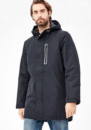 Vatovaná zimní bunda jednoduchého vzhledu