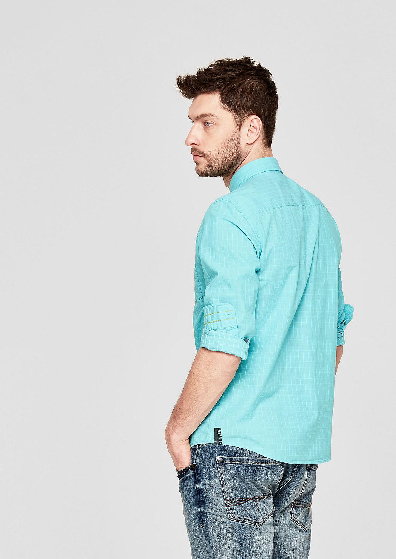 s.Oliver - Regular: Hemd mit Gitterkaros - 3