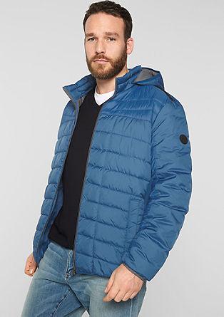 Lehká prošívaná bunda skapucí