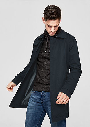 Lightweight short coat with a belt from s.Oliver