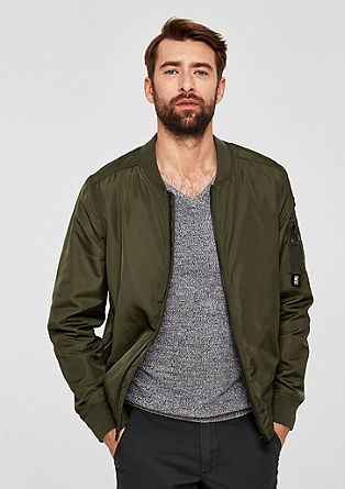 Bomber jacket with a sleeve pocket from s.Oliver