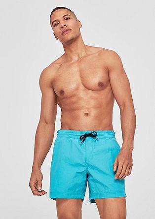 Koupací šortky skontrastní šňůrkou