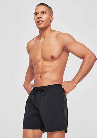 Kopalne kratke hlače s kontrastno vrvico