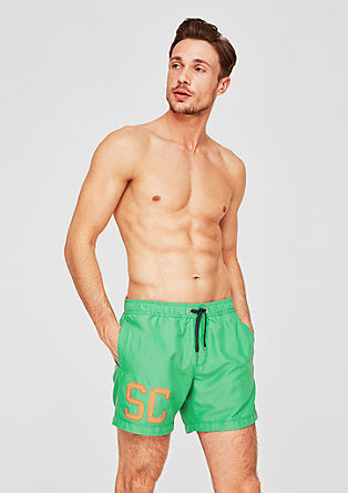 79f3f5c153 Oliver. Swim shorts with a contrast appliqué from s.