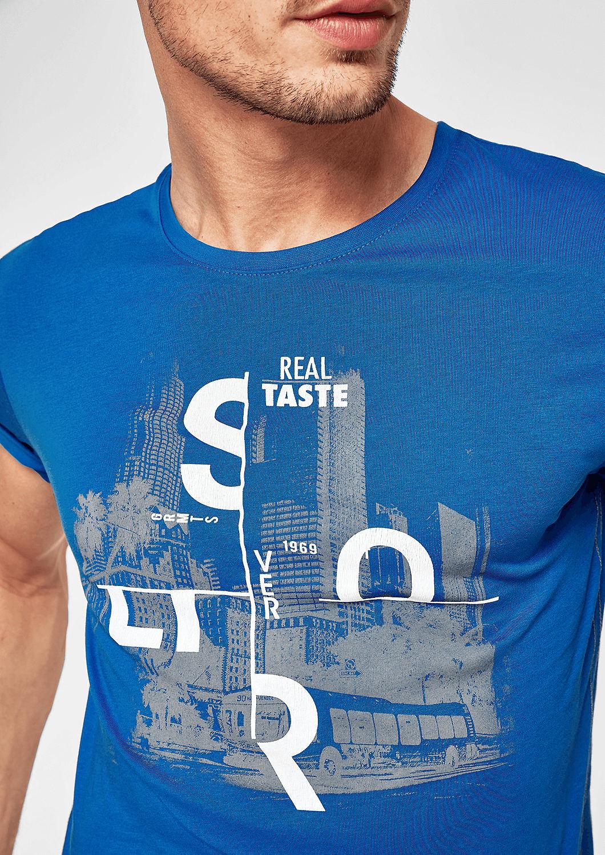 s.Oliver - T-Shirt mit Print-Collage - 5