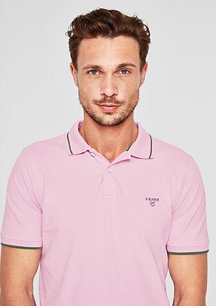 Slim: Polo majica z barvnim poudarkom