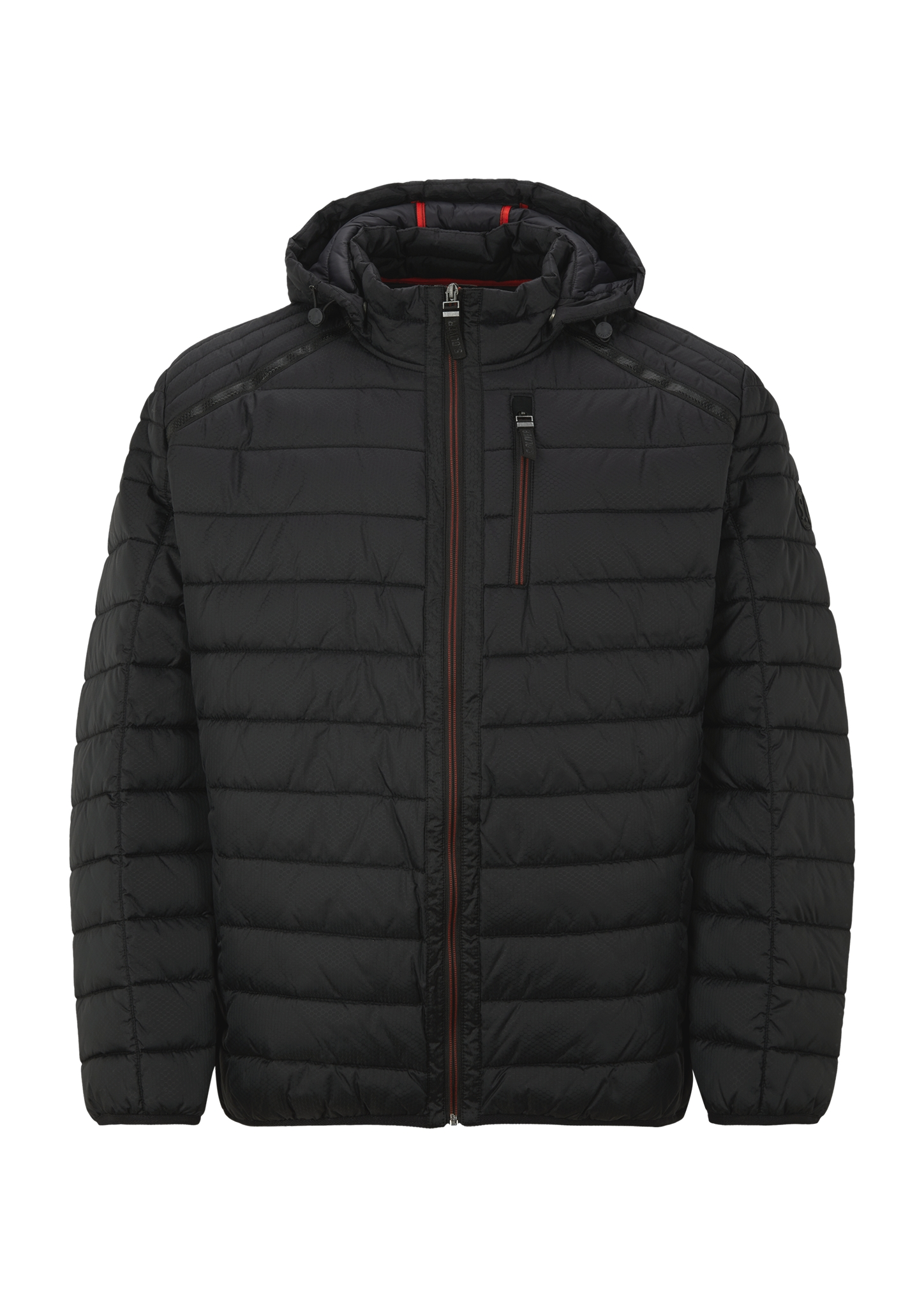 Outdoorjacke | Sportbekleidung > Sportjacken > Outdoorjacken | Schwarz | Obermaterial 100% polyamid| futter 100% polyamid| füllmaterial 100% polyester | s.Oliver Men Big Sizes