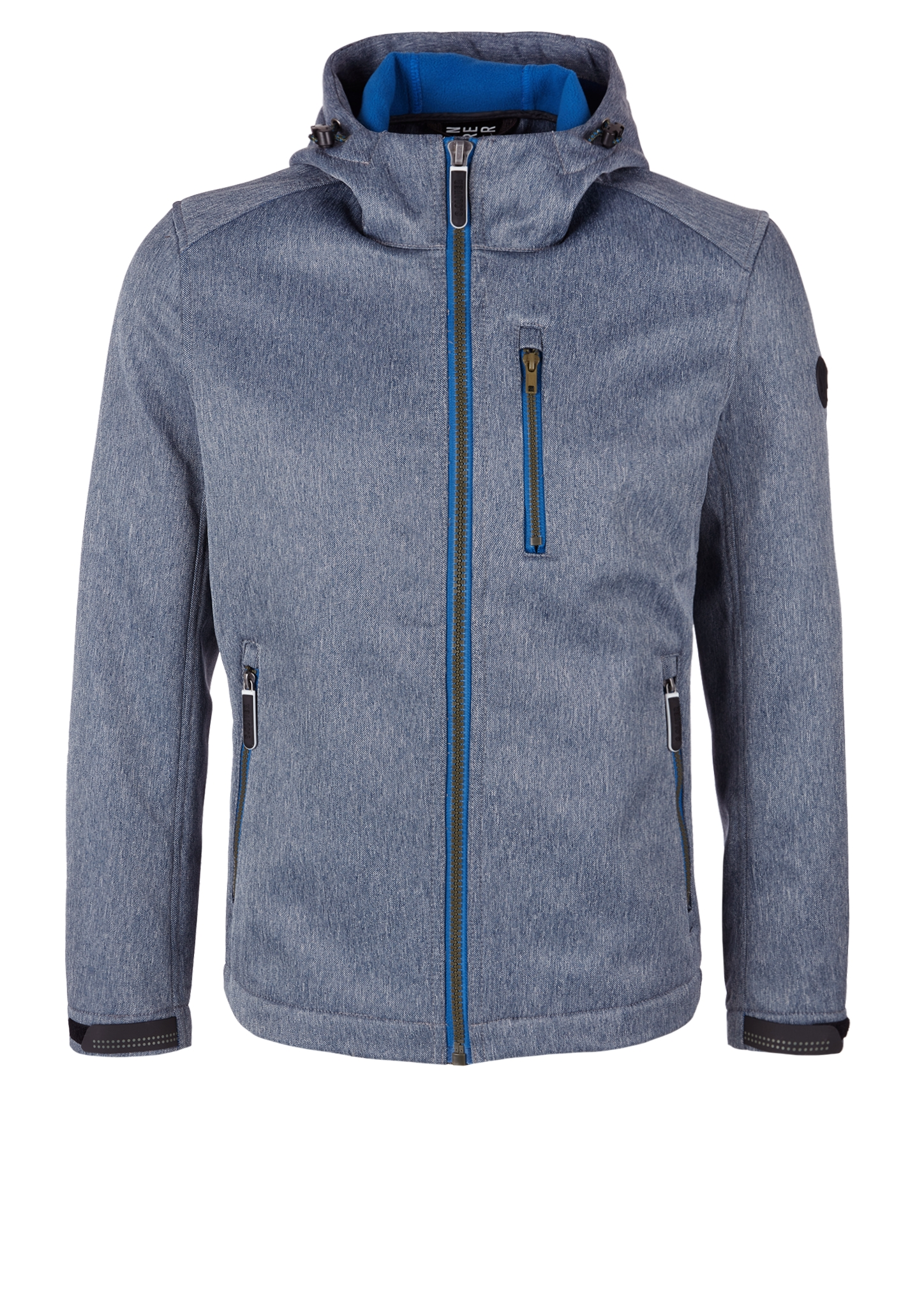Outdoor-Jacke | Sportbekleidung | Blau | Obermaterial 100% polyester| paspelierung 100% polyester | s.Oliver