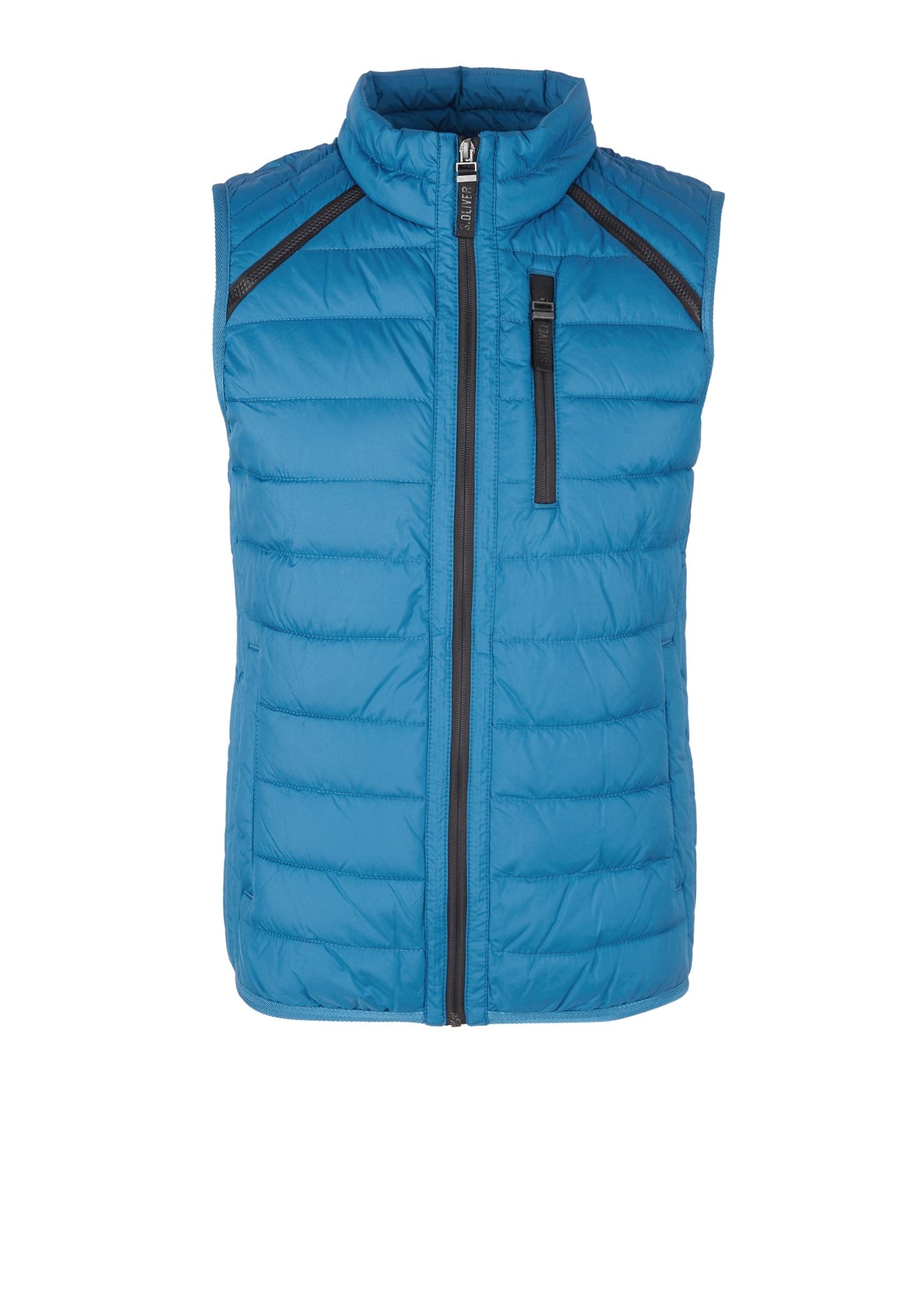 Steppweste | Bekleidung > Westen > Steppwesten | Blau | Obermaterial 100% polyester| futter 100% polyamid| füllmaterial 100% polyester | s.Oliver