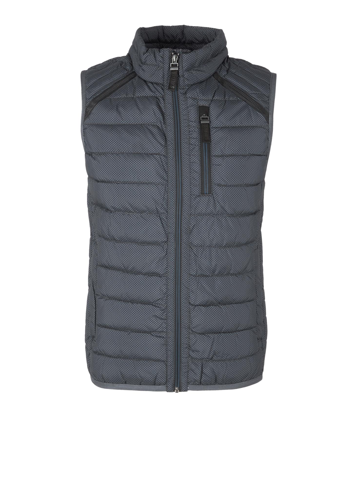 Steppweste | Bekleidung > Westen > Steppwesten | Grau | Obermaterial 100% polyester| futter 100% polyamid| füllmaterial 100% polyester | s.Oliver