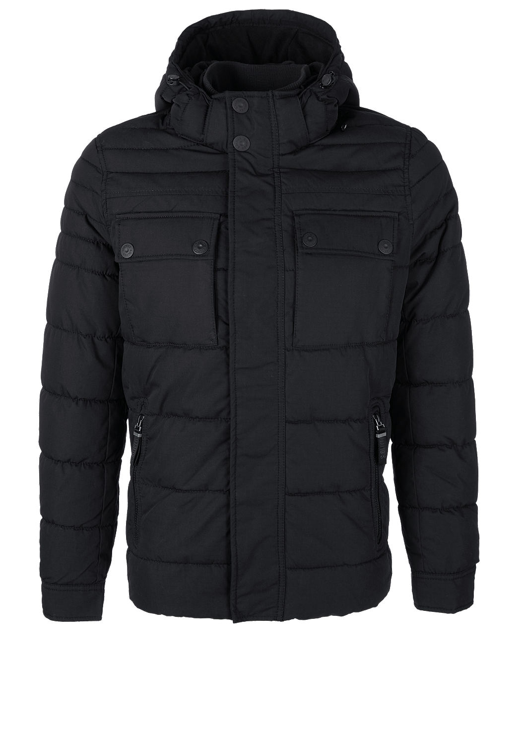 s.Oliver - Gesteppte Winterjacke in Field-Optik - 4