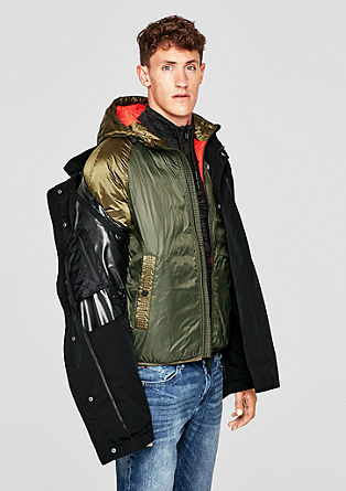 2-in-1 winter jacket with a hood from s.Oliver