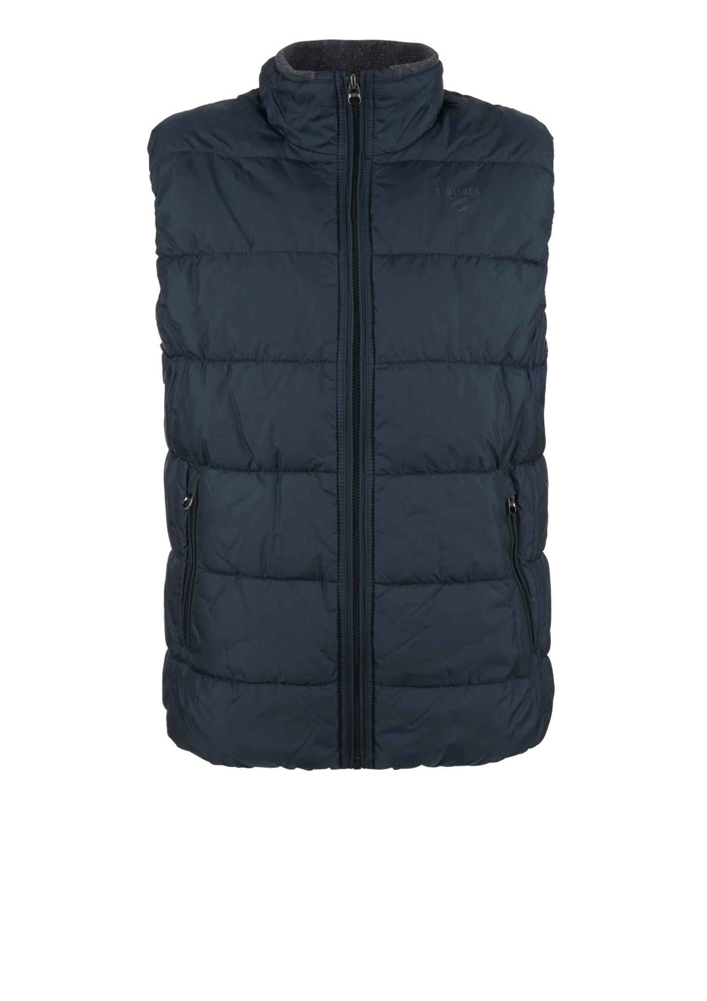 Outdoorweste | Sportbekleidung | Blau | Obermaterial 100% polyester| futter und füllmaterial 100% polyamid| kragenfutter 95% baumwolle -  5% elasthan | s.Oliver