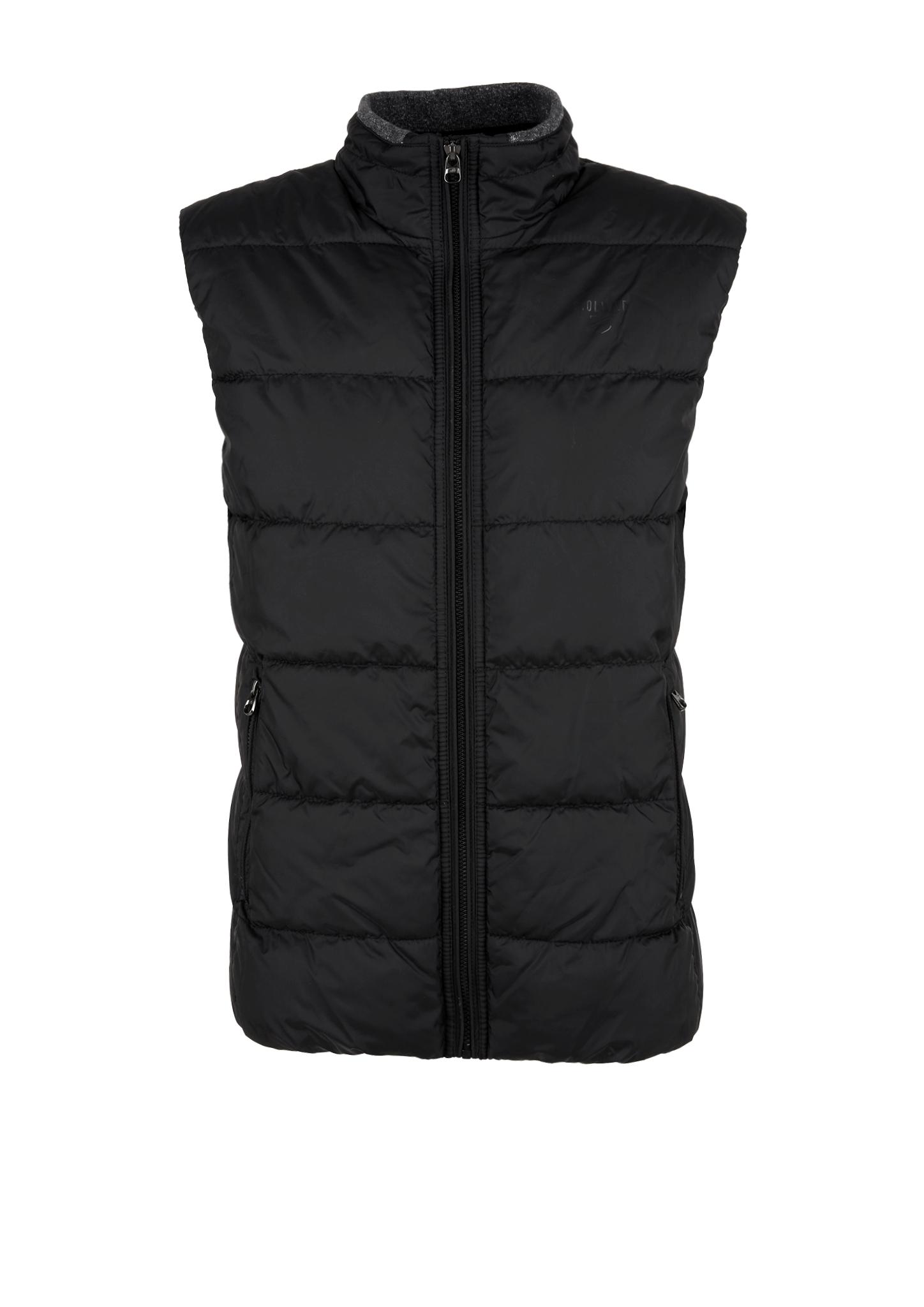 Outdoorweste | Sportbekleidung > Sportwesten > Outdoorwesten | Grau/schwarz | Obermaterial 100% polyester| futter und füllmaterial 100% polyamid| kragenfutter 95% baumwolle -  5% elasthan | s.Oliver