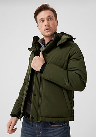 Winterjacke mit Backpacking Straps