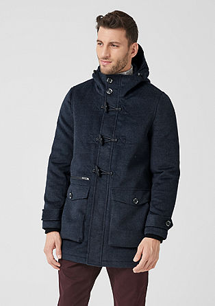Felt-look outdoor jacket from s.Oliver
