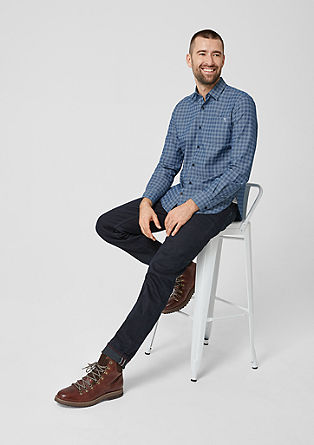 Regular: Lightweight twill shirt from s.Oliver