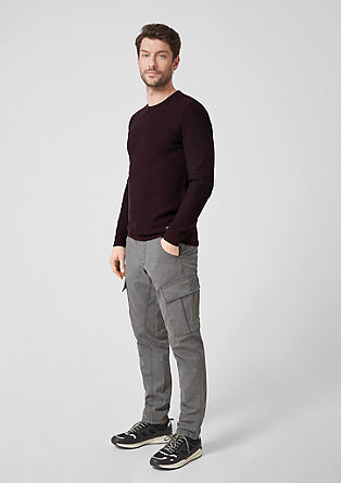 Textured knit jumper from s.Oliver