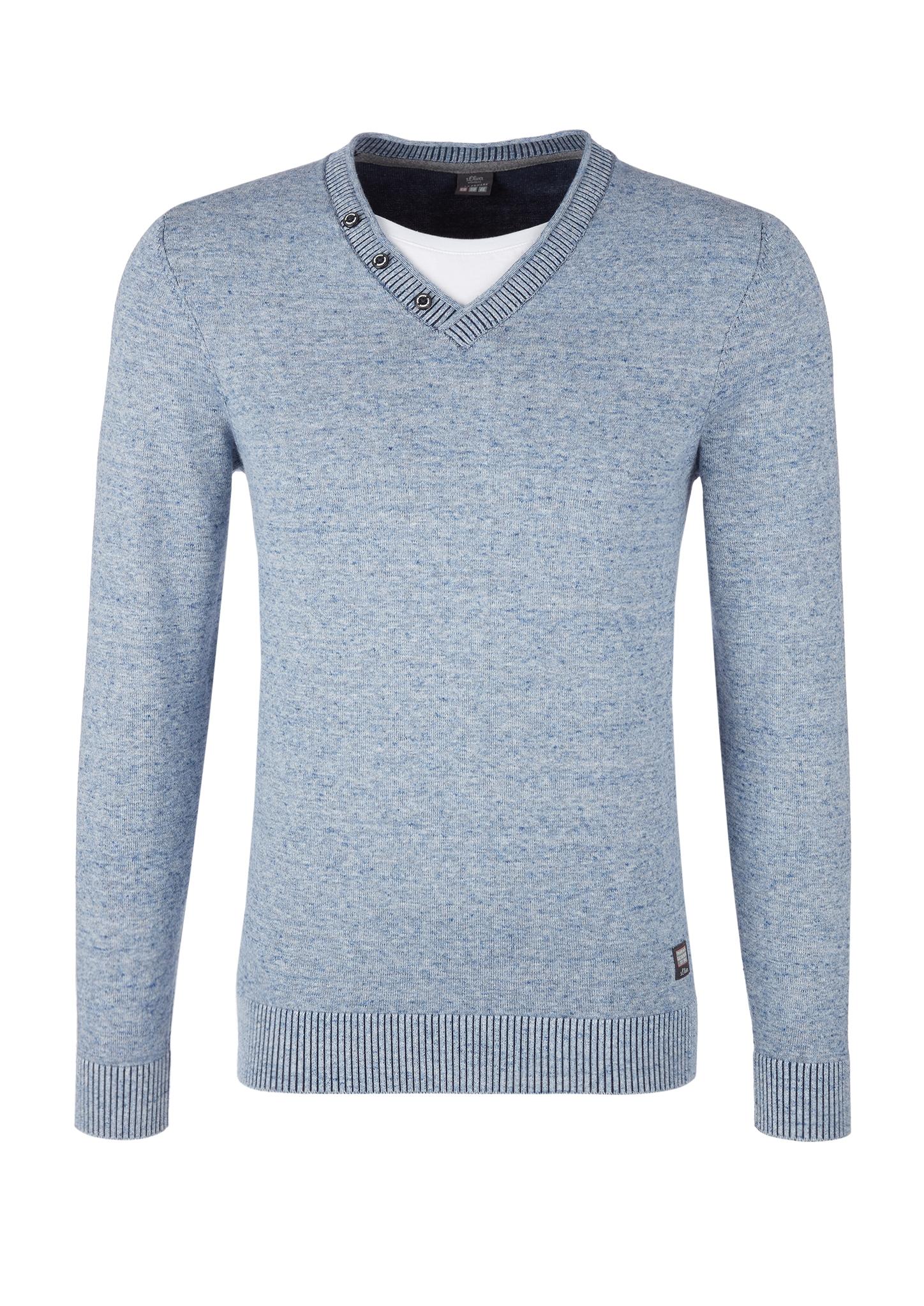 Pullover | Bekleidung > Pullover > Sonstige Pullover | Blau | 100% baumwolle | s.Oliver