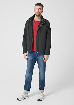 Outdoor jacket with a stand-up collar from s.Oliver