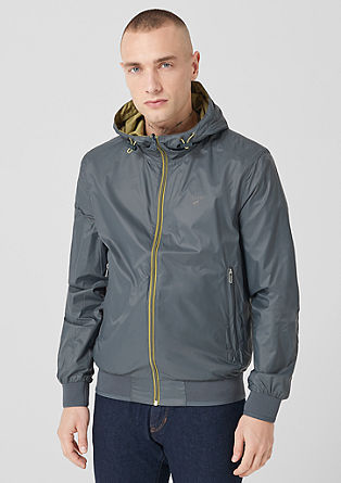 Reversible jacket with a hood from s.Oliver