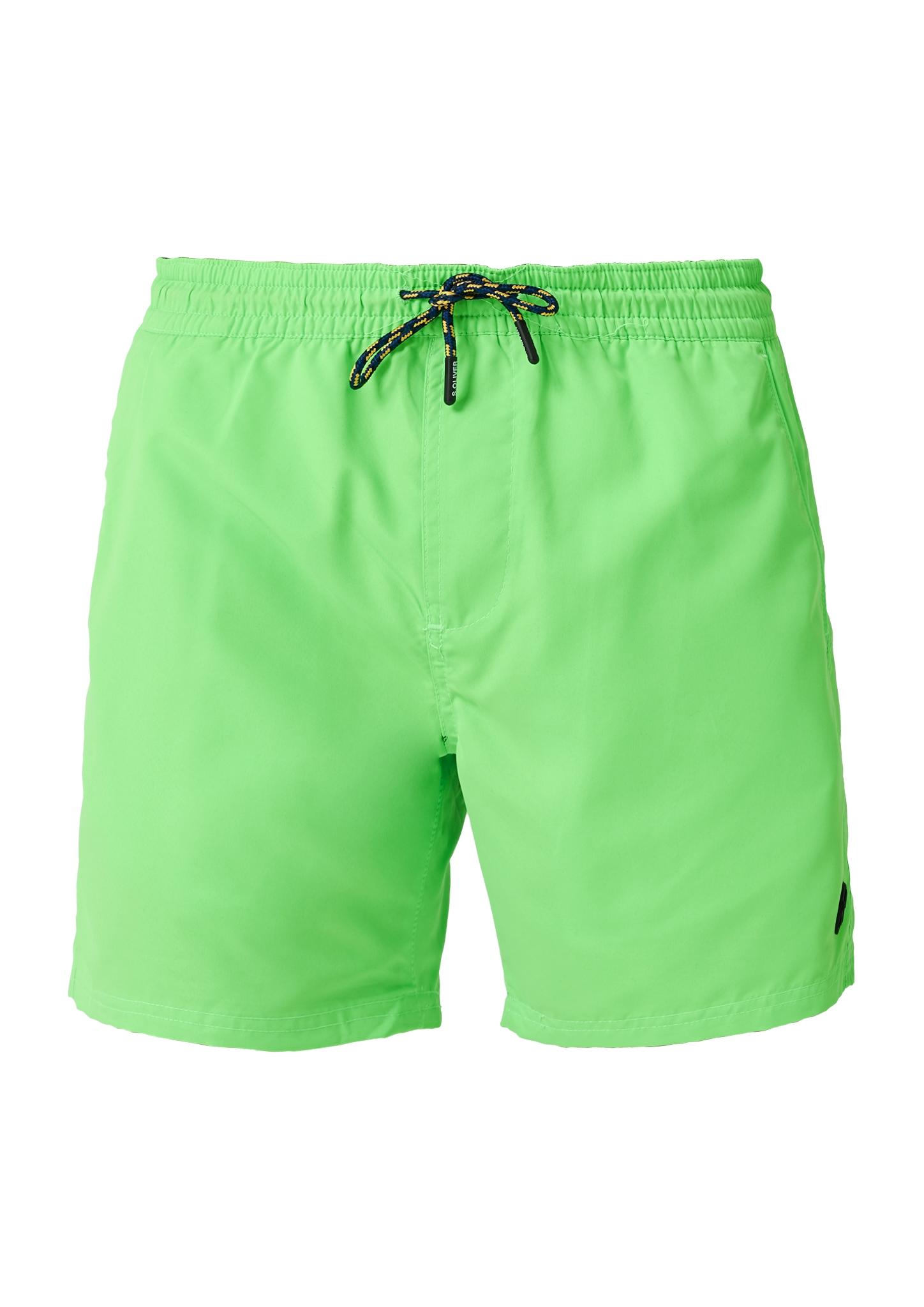 Badehose | Bekleidung > Bademode > Badehosen | Grün | Oberstoff: 100% polyester| futter: 100% polyester | s.Oliver