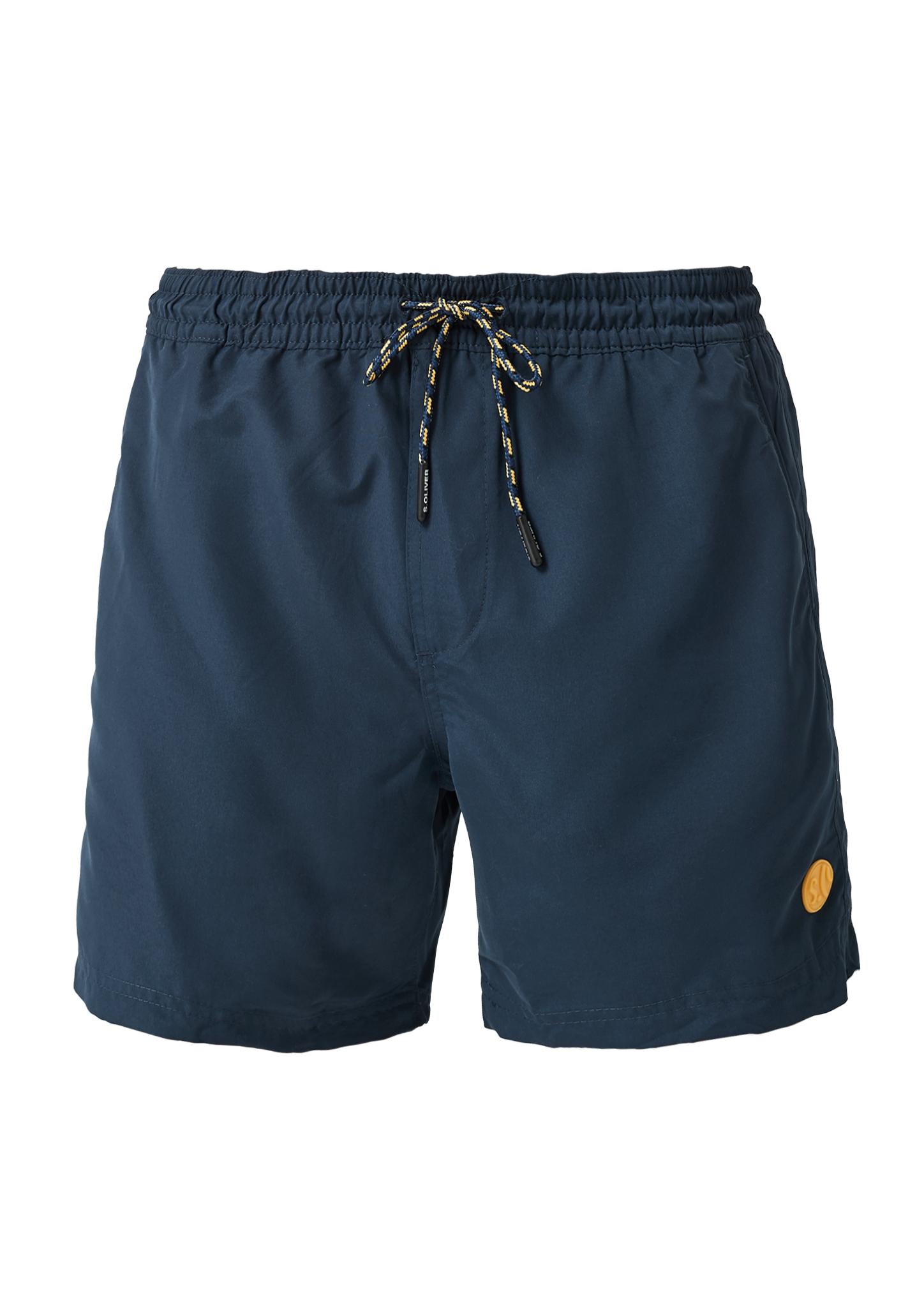 Badehose | Bekleidung > Bademode > Badehosen | Blau | Oberstoff: 100% polyester| futter: 100% polyester | s.Oliver