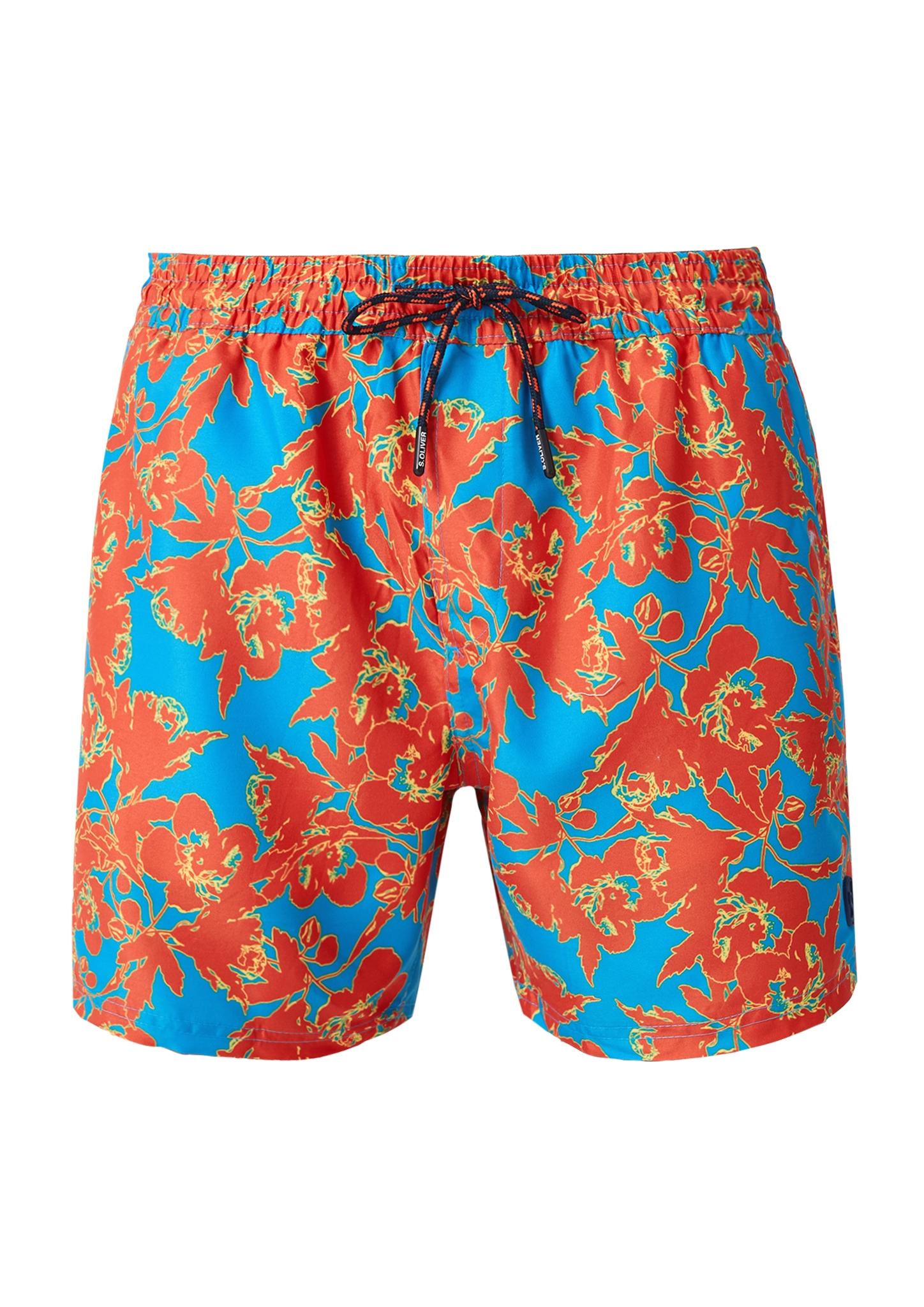 Badehose   Bekleidung > Bademode   Blau   Oberstoff: 100% polyester  futter: 100% polyester   s.Oliver