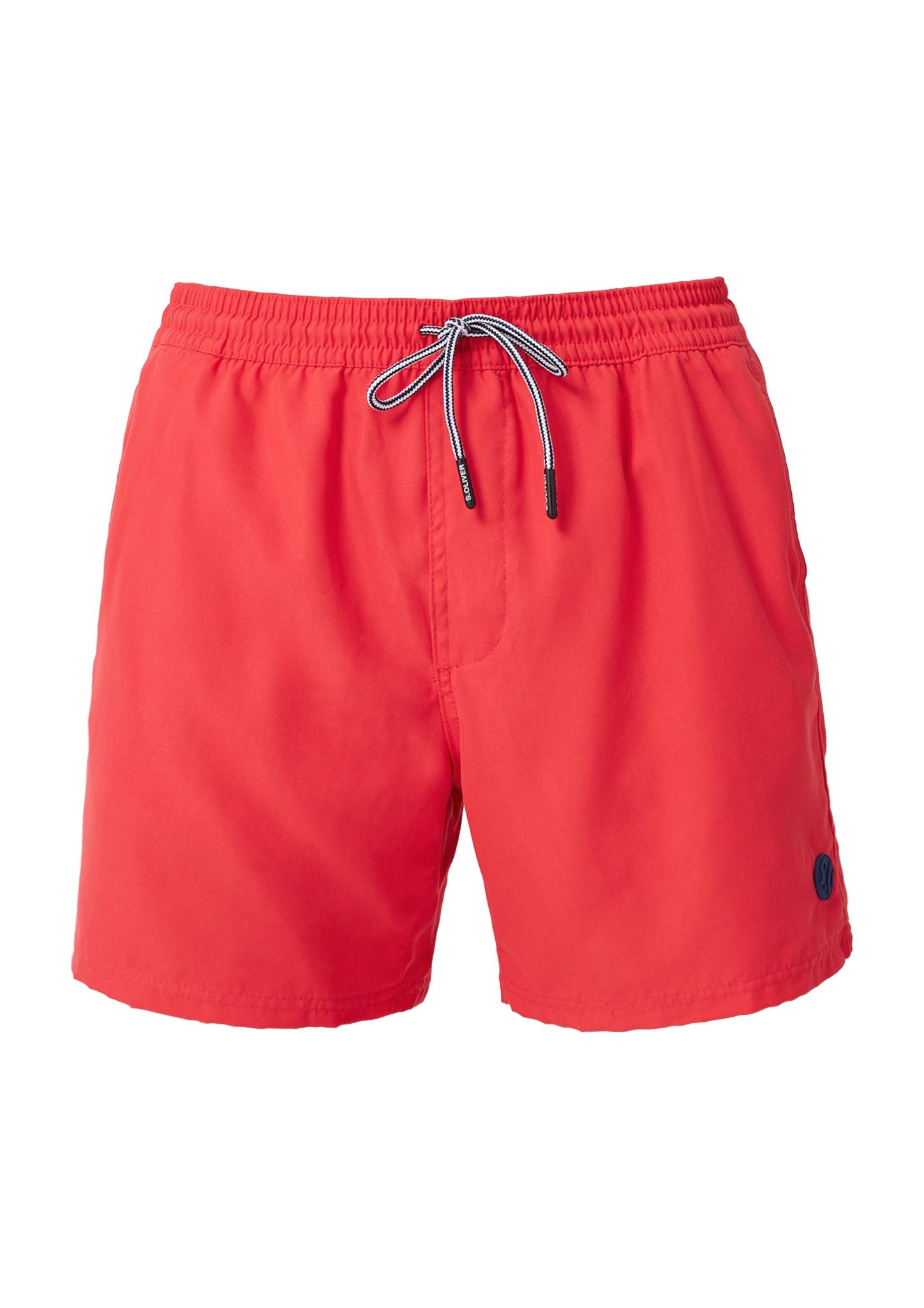 Badeshorts | Bekleidung > Bademode | Rot | Oberstoff: 100% polyester| futter: 100% polyester | s.Oliver