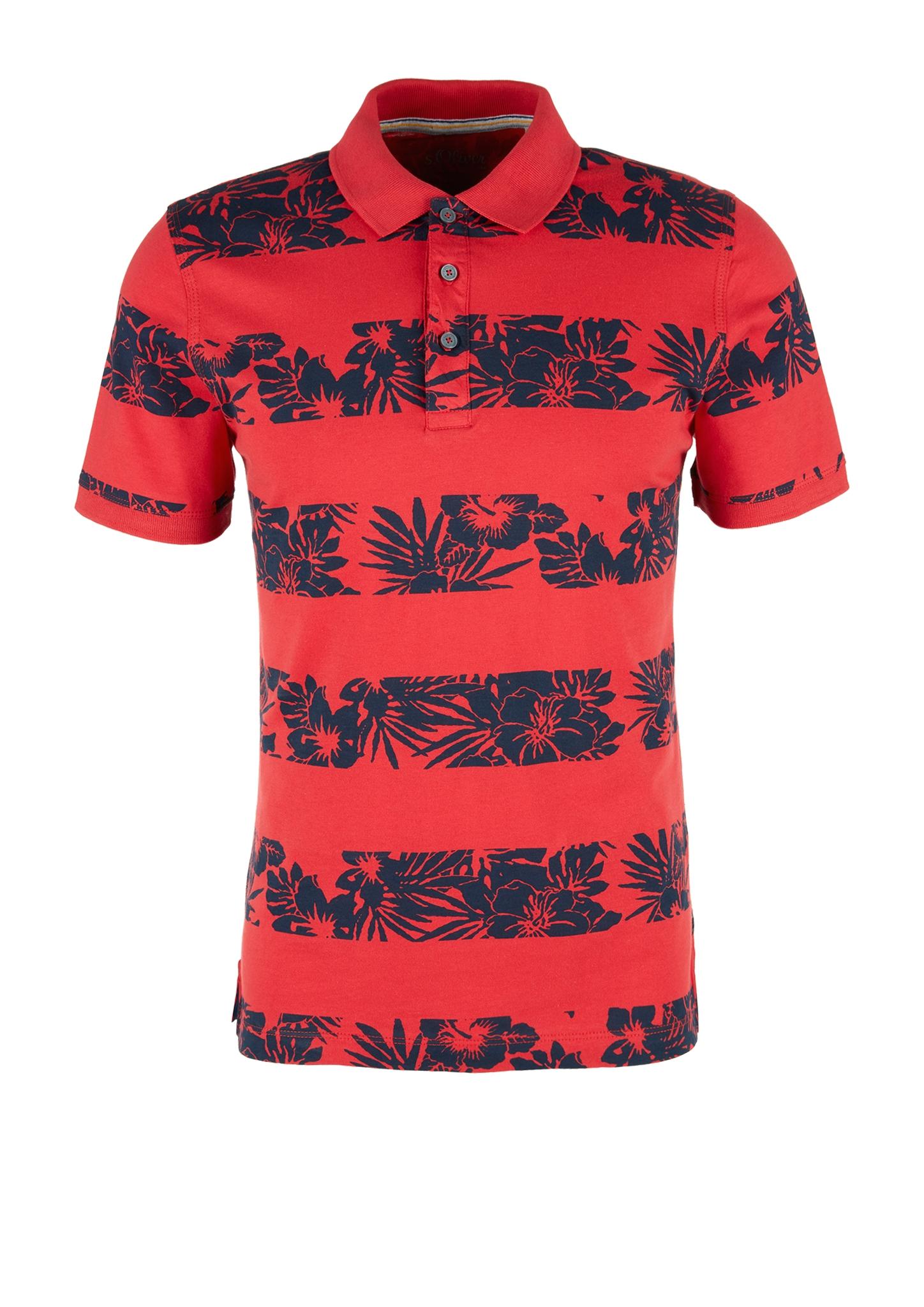 Poloshirt | Bekleidung > Polo Shirts > Kurzarm | Rot | 100% baumwolle | s.Oliver